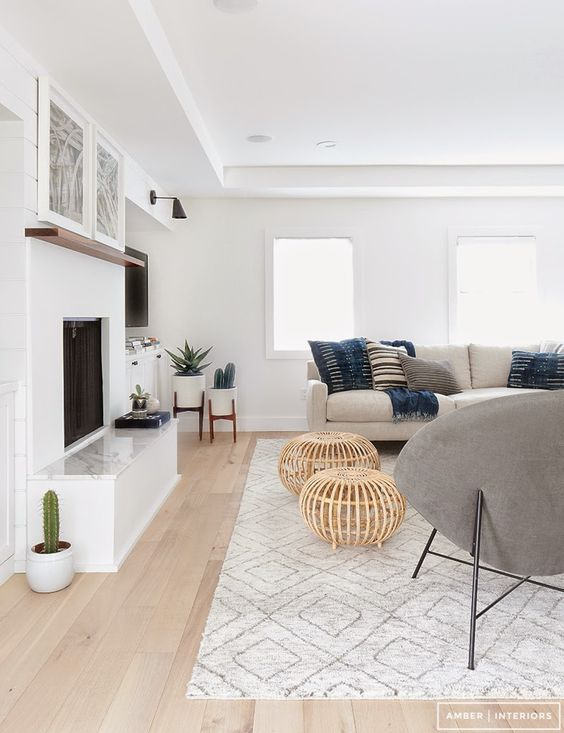 Elegir chimeneas para pisos pequeños