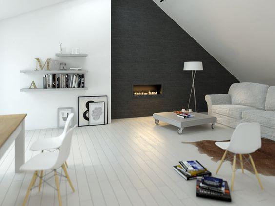 tipos de chimeneas para pisos pequeños