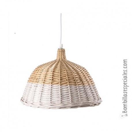 lampara de fibras naturales para aprovechar las rebajas