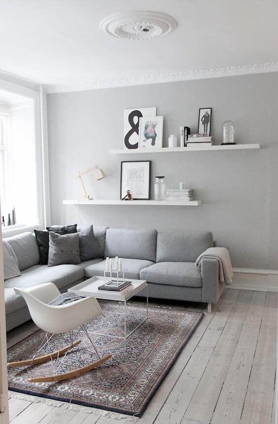Cómo decorar un salón con estilo nórdico