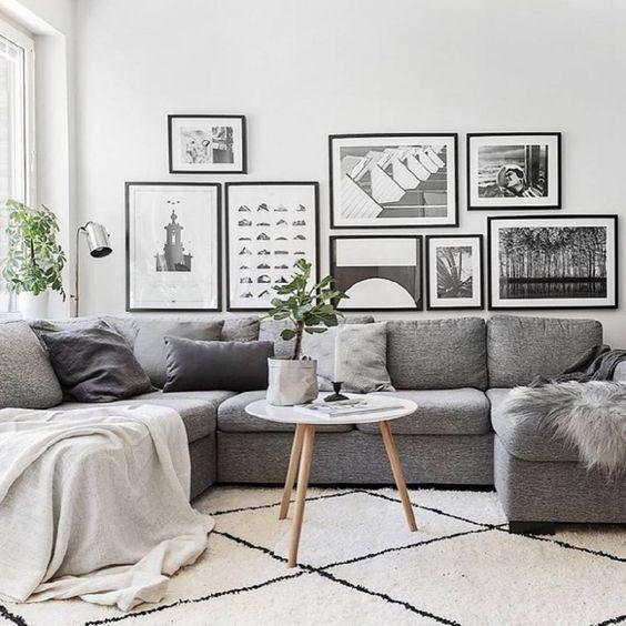 decorar un salon con estilo nórdico