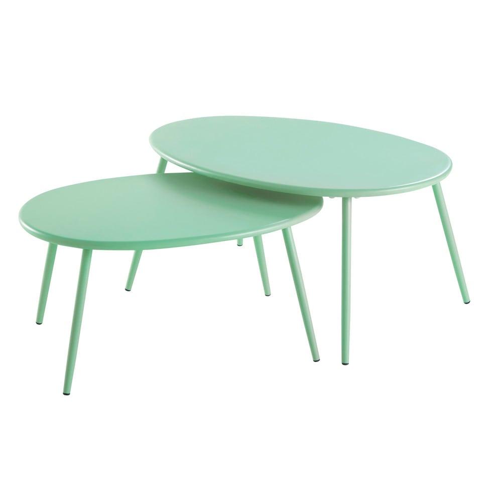 Decorar una terraza con estilo nórdico mesas bajas