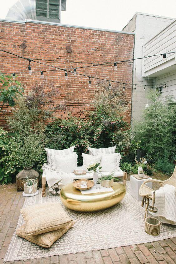 Decorar terraza con estilo nórdico mesas