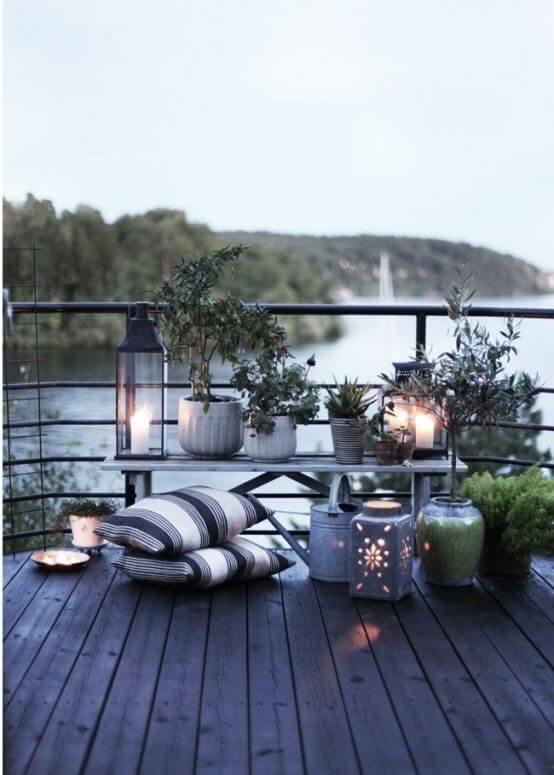 Decorar una terraza con estilo nórdico detalles
