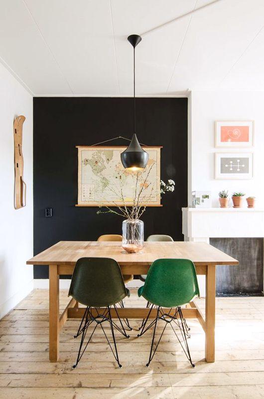 lámpara para la mesa del comedor tamaño