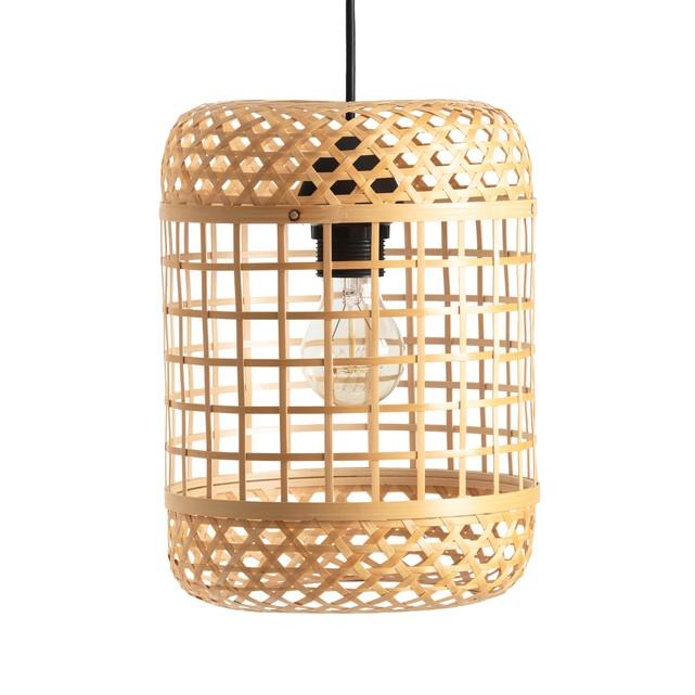 Novedades de la Redoute lámpara de bambú