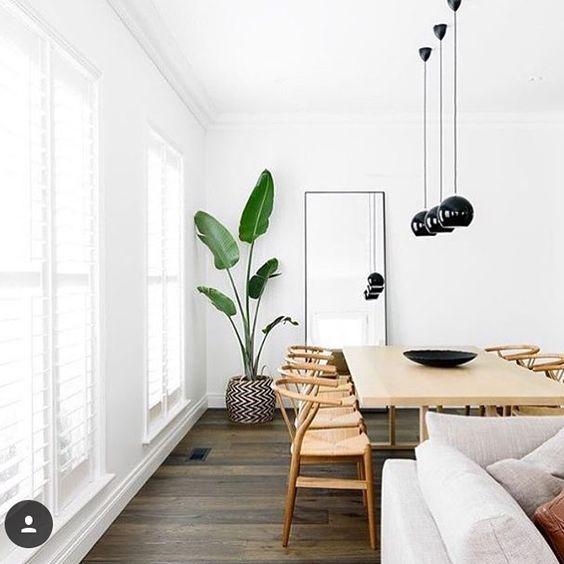 decorar rincón de un salón con plantas