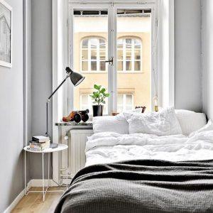 Iluminar dormitorio de estilo nórdico
