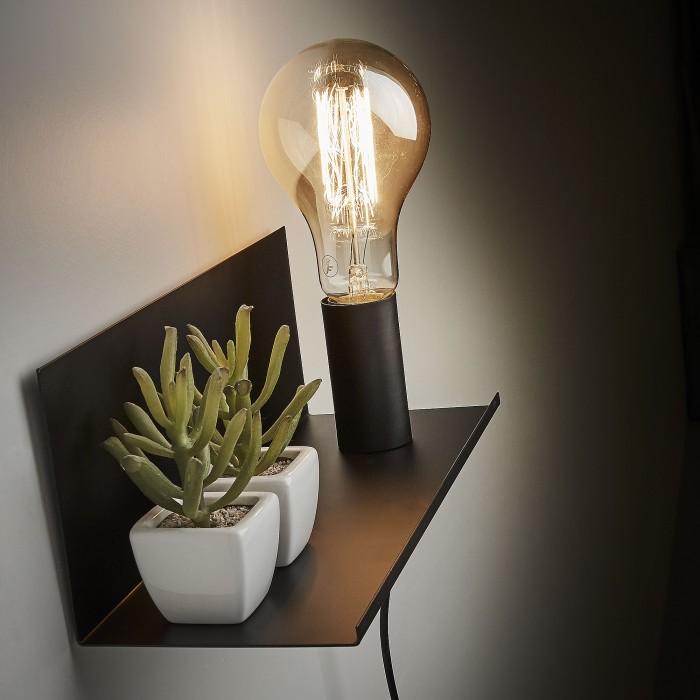 iluminar dormitorio de estilo nórdico aplique