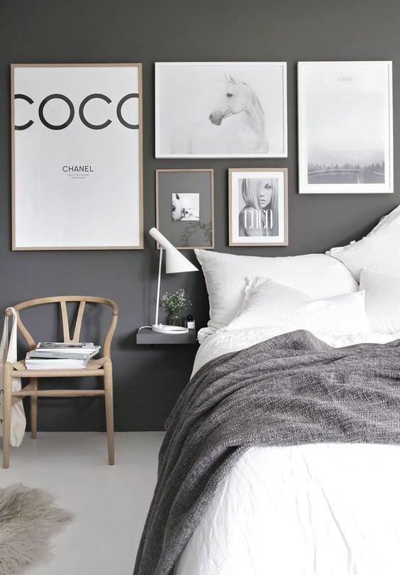 Iluminar dormitorio de estilo nórdico lámpara diseño