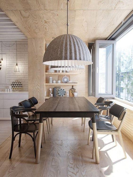 lámpara para la mesa del comedor grande