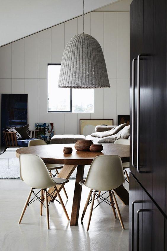lámpara para la mesa de comedor reglas
