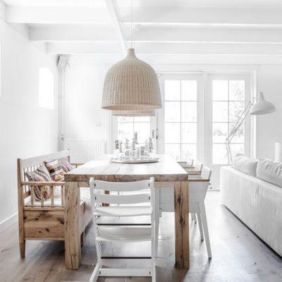 Lámpara para la mesa del comedor