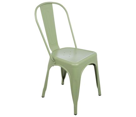 compras de jardín silla de acero