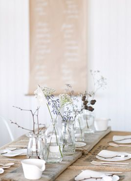 decorar una mesa primaveral de cumpleaños
