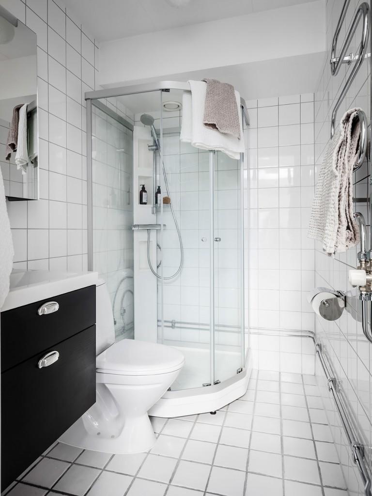 Home Tour nórdico baño