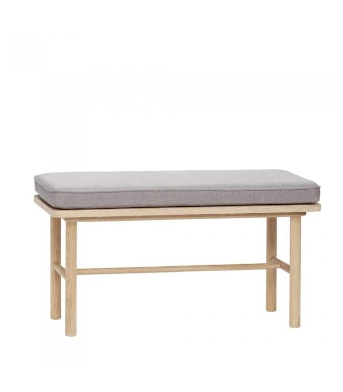 muebles nórdicos banco de madera