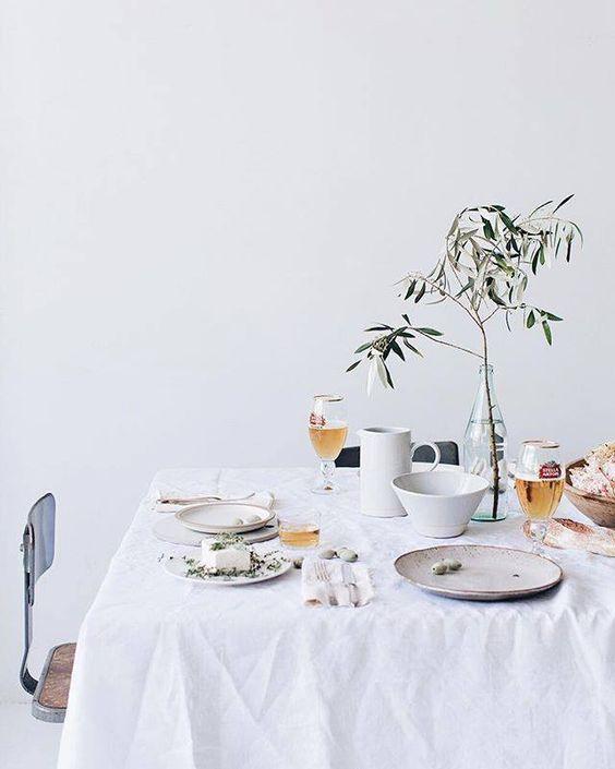 Ideas para una mesa primaveral de cumpleaños