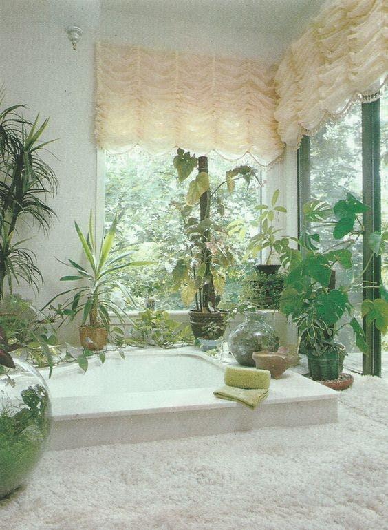 decoración viejuna baños