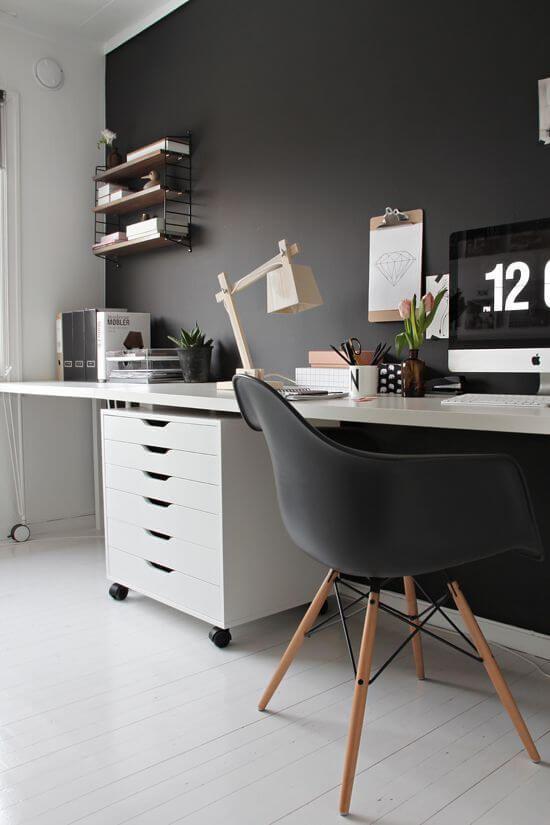 Espacios de trabajo con estilo nórdico