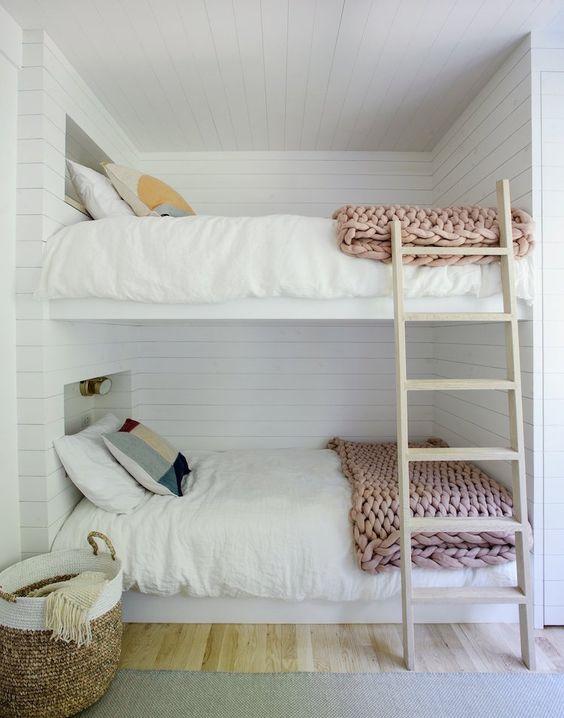 Dormitorios de casas de verano literas