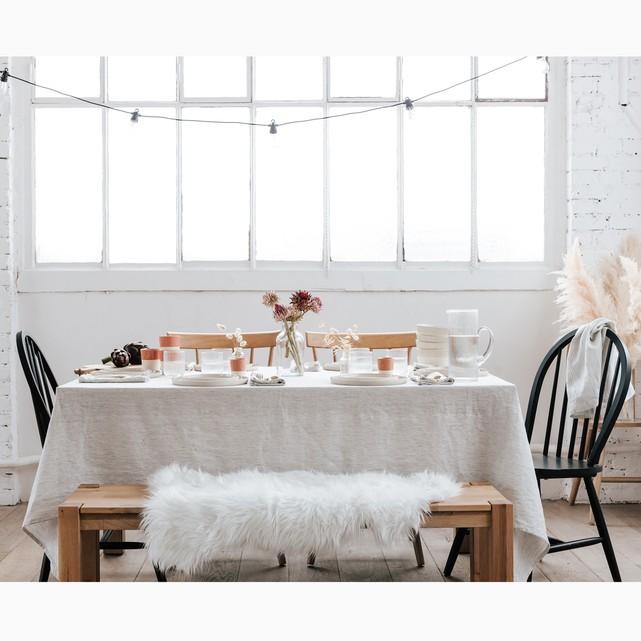 Textiles veraniegos mantel lino