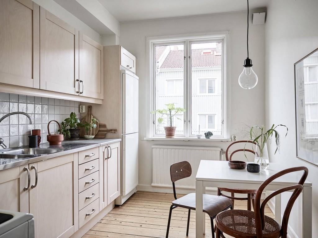 sencillez nórdica cocina