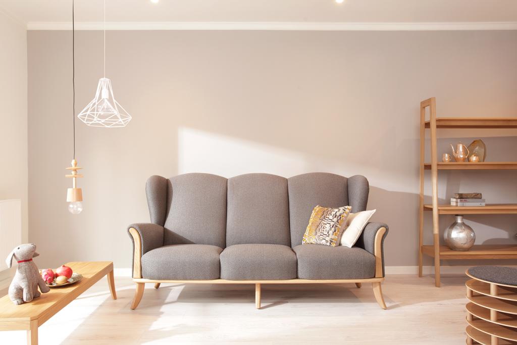 Diseño nórdico Ikonik Home sofá Ushak