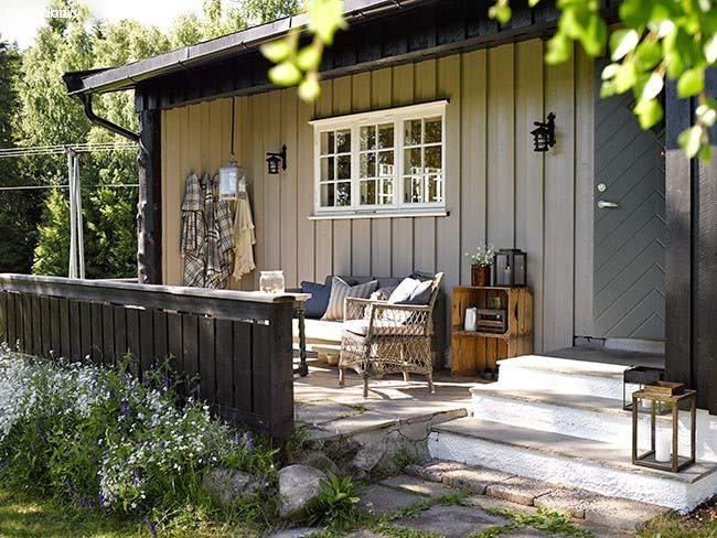 casa de verano noruega