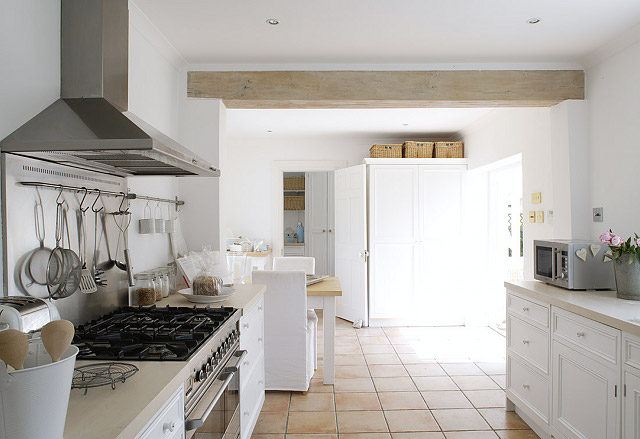 casa de verano cocina