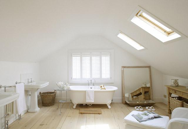 casa de verano baño