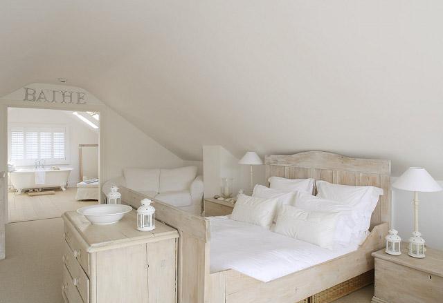 casa de verano dormitorio