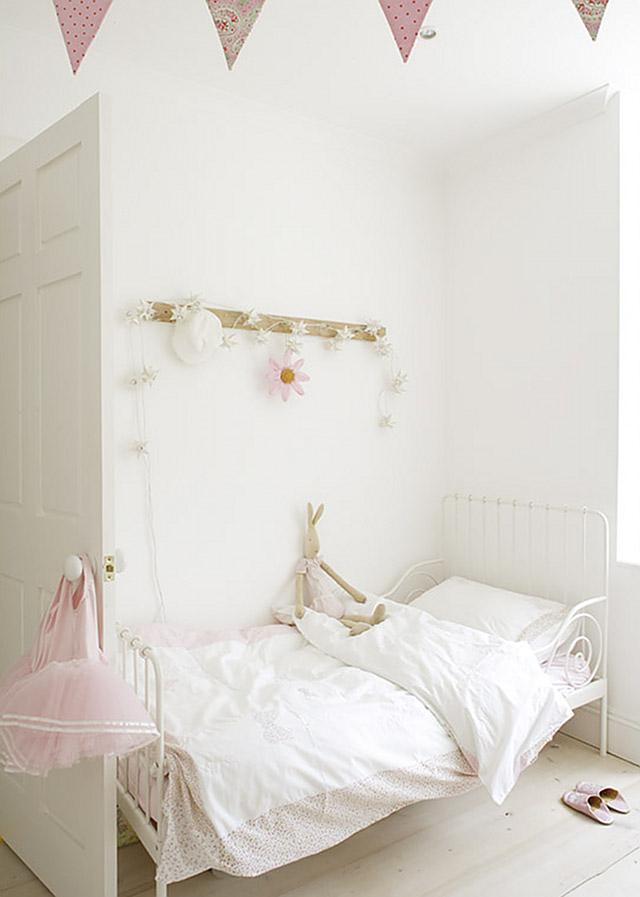casa de verano dormitorio infantil