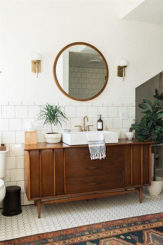 decorar un baño diferente