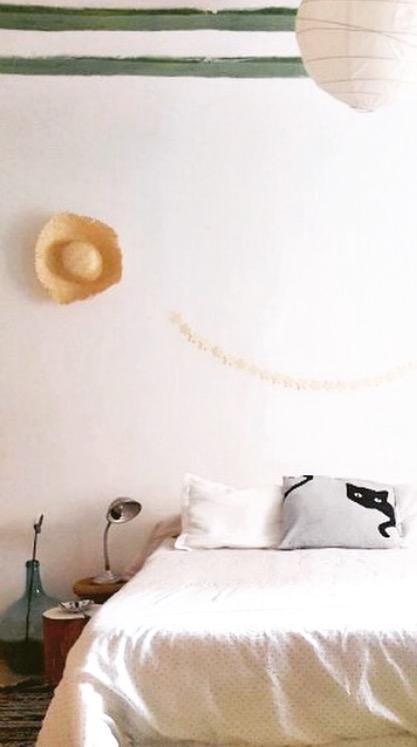 decoración de verano dormitorio
