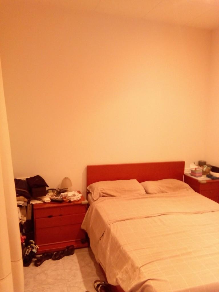 piso con inspiración nórdica antes y después dormitorio