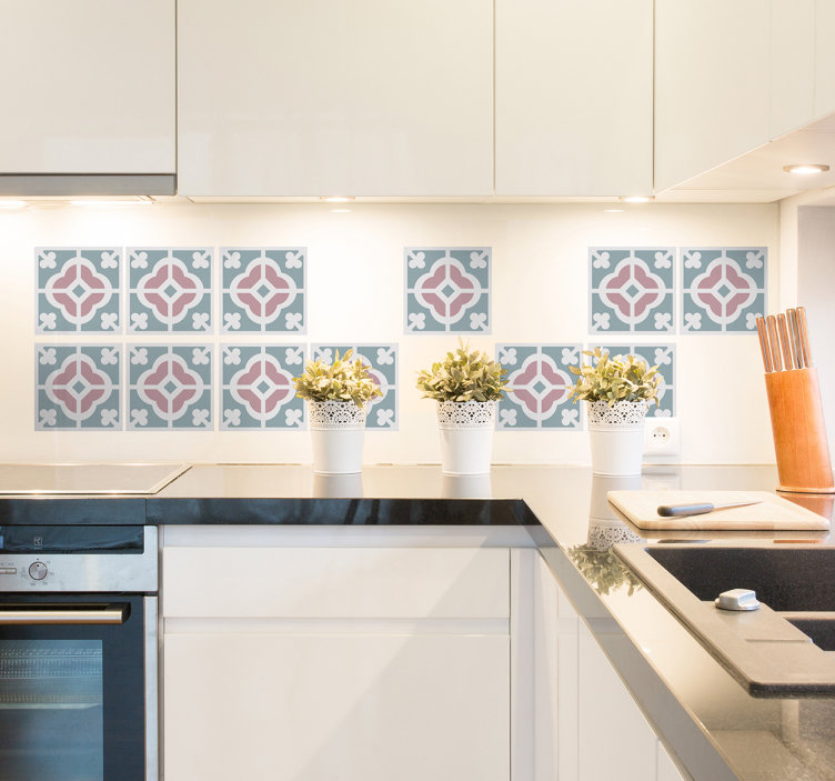 vinilos decorativos azulejo hidráulico