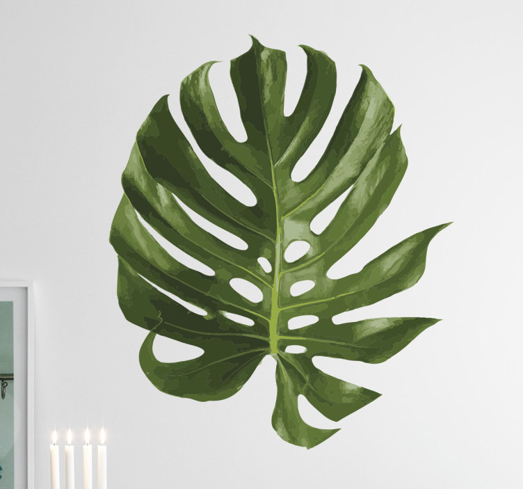 vinilos decorativos monstera