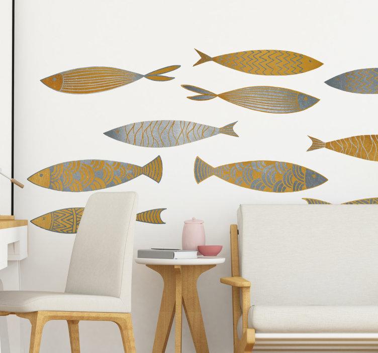 vinilos decorativos peces