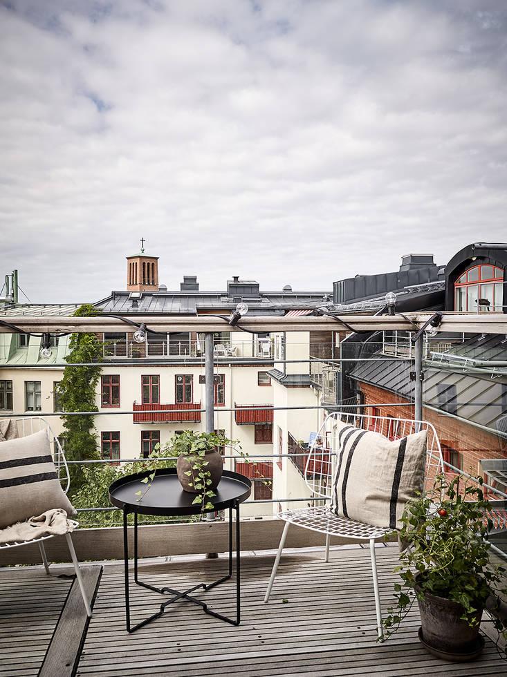Home tour nórdico terraza