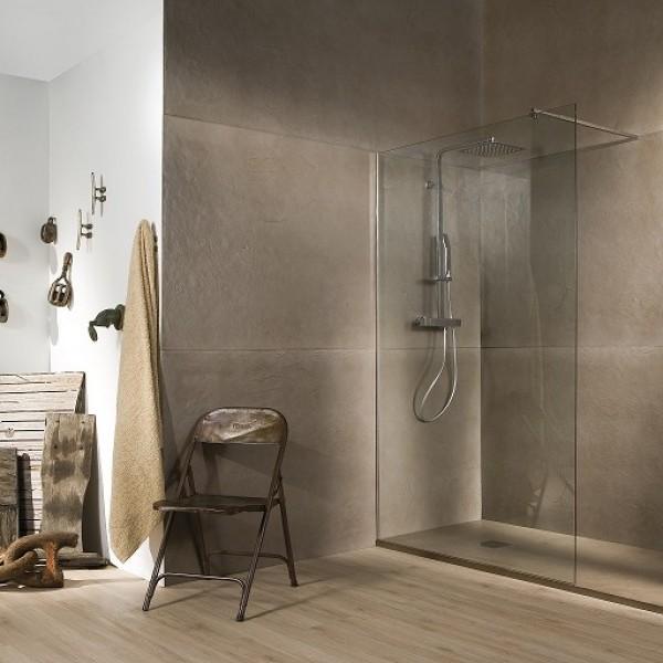 banium baño de estilo nórdico