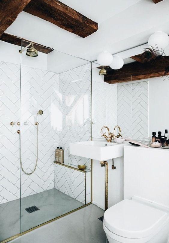 baños blancos trucos de decoración