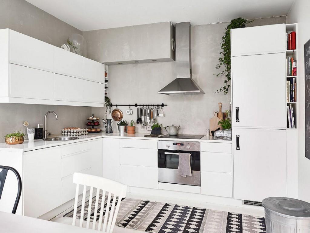 Home tour nórdico y low cost cocina