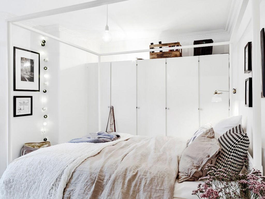 home tour nórdico y low cost dormitorio