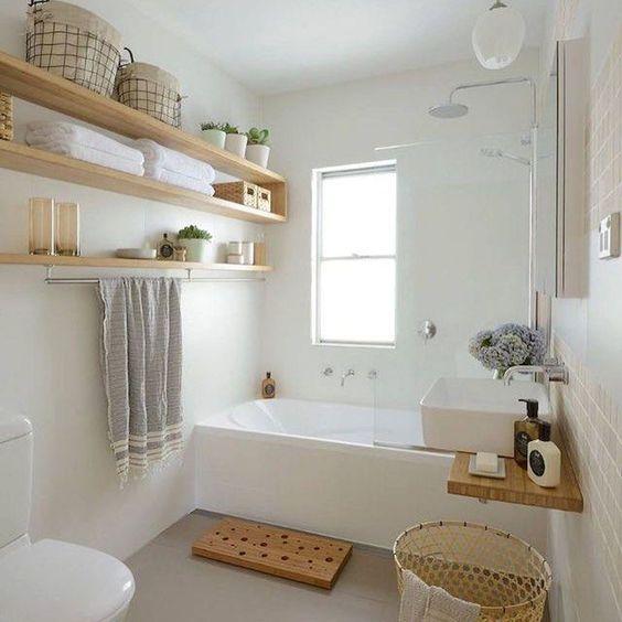 Antes y Después de 3 baños sin obras