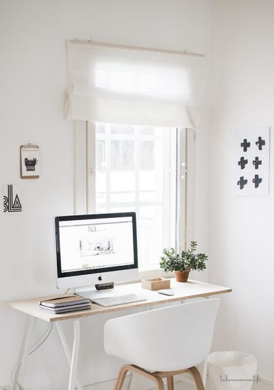 simplificar decoración zona de trabajo