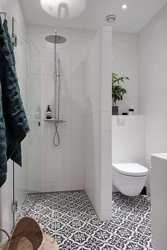 decorar un baño pequeño suelos