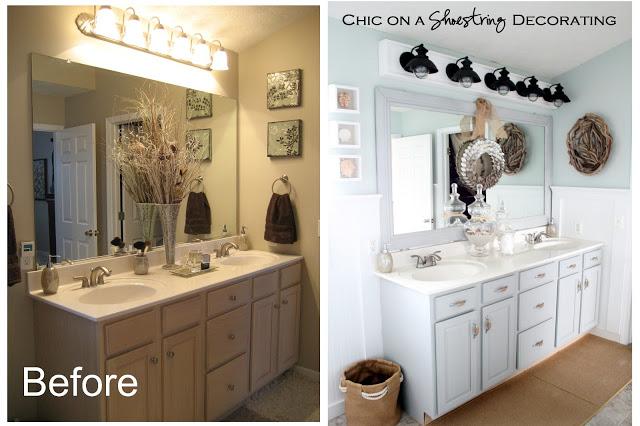 antes y después baños sin obras