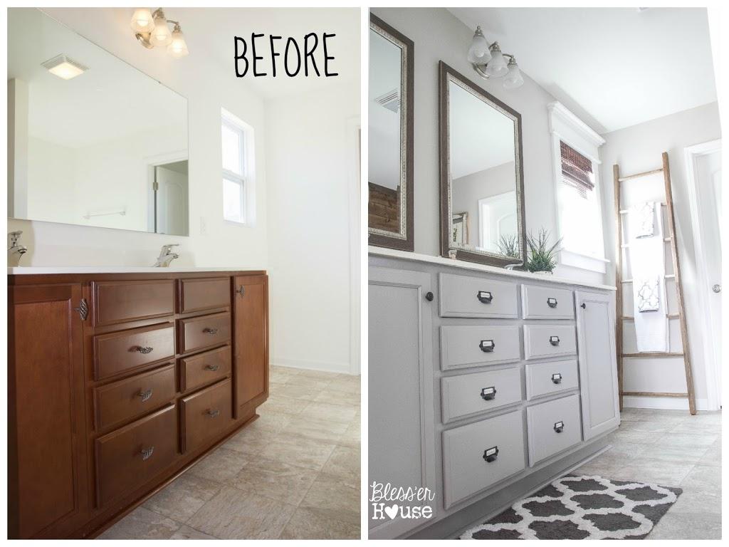 antes y despues baños sin obras