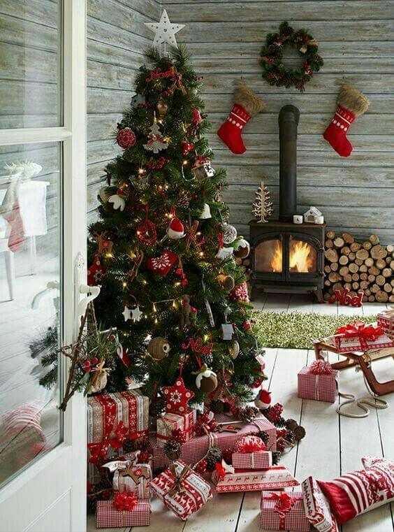 arbol de Navidad tradicional